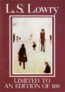 Lowry : Figures in the Park publisher's booklet