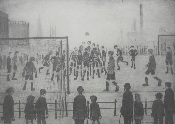 Lowry : The Football Match